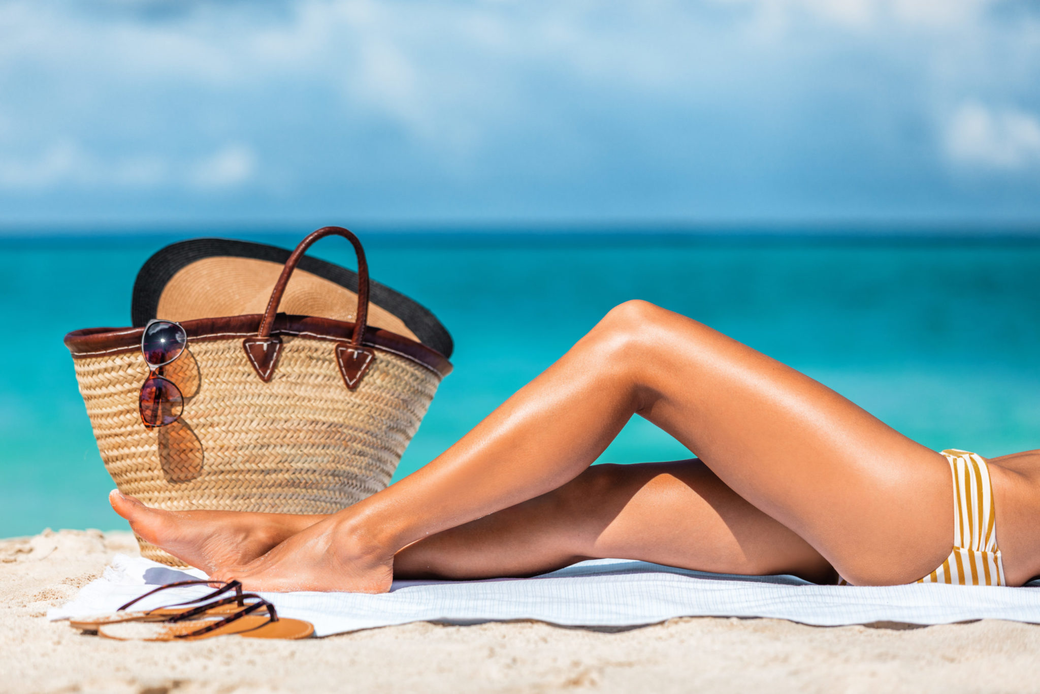 Laser hair removal and sunbathing