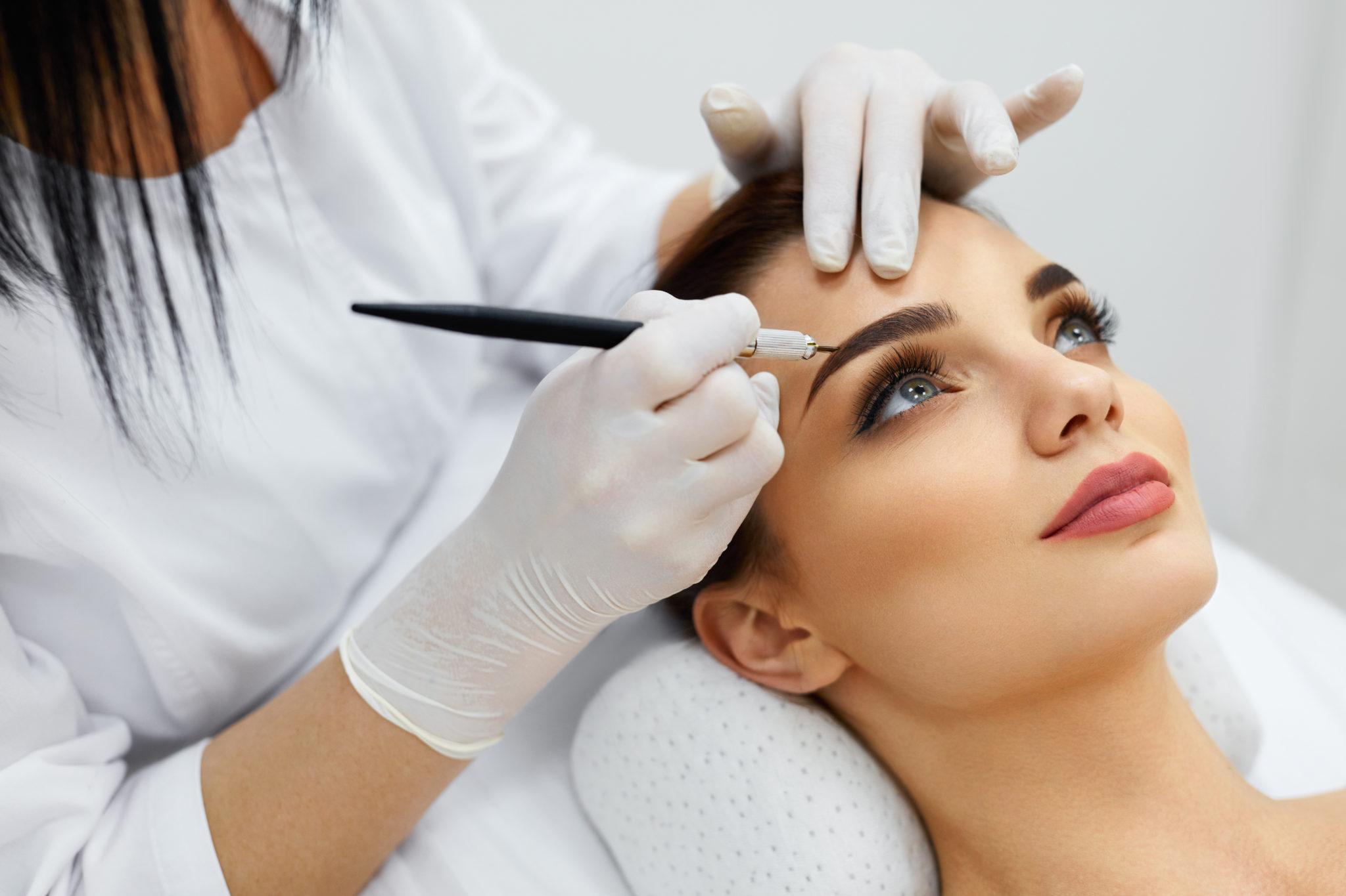 eyebrow tattoo removal